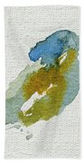 Abstract Bird Singing Beach Towel