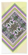 Hill Of Flowers Double Beach Towel