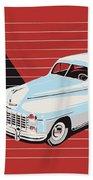 Dodge Showroom Poster Beach Towel