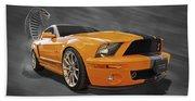 Cobra Power - Shelby Gt500 Mustang Beach Towel