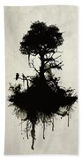 Last Tree Standing Beach Towel