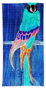 Surreal Parrot Beach Towel