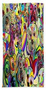 Dogs Dogs Dogs Beach Towel