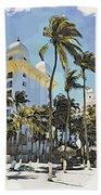 Aruba Palms Two Beach Towel