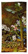 Arum And Conservatory Plants 1864 Beach Towel