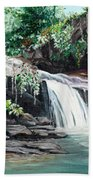 Asa Wright Falls      Sold Beach Towel