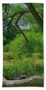 Ash Tree Beach Towel