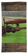 Ashes To Ashes - Rust To Rust Beach Towel