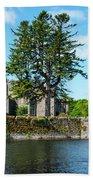 Ashford Castle And Cong River Beach Towel