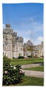 Ashford Castle, County Mayo, Ireland Beach Towel