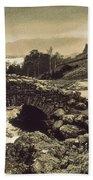 Ashness Bridge Cumbria England Beach Towel
