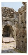 Asklepios Temple Ruins Beach Towel