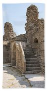 Asklepios Temple Ruins View 2 Beach Towel