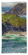 Asparagus Island Beach Towel