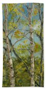 Aspen Glow Beach Towel