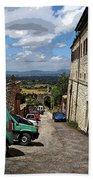Assisi Italy I Beach Towel