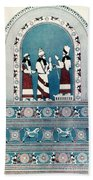 Assyrian King, C720 B.c Beach Towel