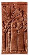 Assyrian Queen, 645 B.c Beach Towel
