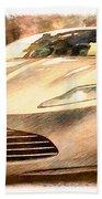 Aston Martin Db10 Beach Towel