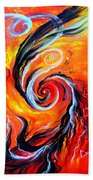 Astral Travels. Fire Way Out Of The Death Beach Towel