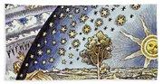 Astrology, 16th Century Beach Towel
