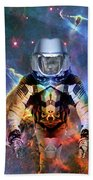 Astronaut Disintegration Beach Towel