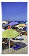 At Mondello Beach - Sicily Beach Towel