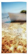 At The Edge Of The Ocean Beach Towel
