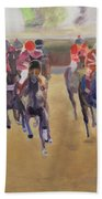 At The Races Beach Towel