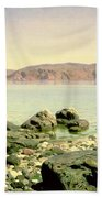 At The Sea Of Galilee Beach Towel