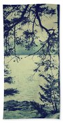 At The Water's Edge Beach Towel