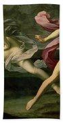 Atalanta And Hippomenes Beach Towel