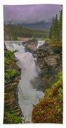 Athabasca Falls Beach Towel