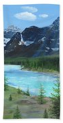 Athabasca River Beach Towel