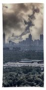 Atlanta Skyline Panoramic Beach Towel