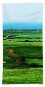 Atlantic View Doolin Ireland Beach Towel