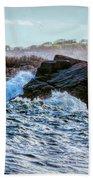 Atlantic Waves 2 Beach Towel