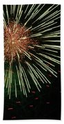 Atom Burst Beach Towel