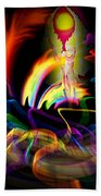 Atrium Outburst Angel Beach Towel