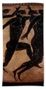 Attic Black-figured Vase Beach Towel