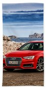 Audi A4 Beach Towel