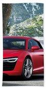 Audi R8 Beach Towel