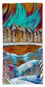 Aurora's Reflections Beach Towel