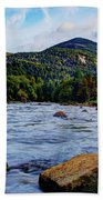 Ausable And Whiteface Beach Towel