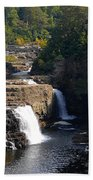 Ausable Falls Beach Towel