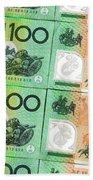 Aussie Dollars 09 Beach Towel