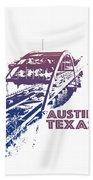 Austin 360 Bridge, Texas Beach Towel