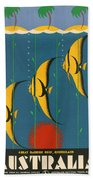Australia Beach Towel