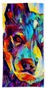 Australian Cattle Dog Beach Towel