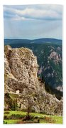 Austrian Alps Beach Towel